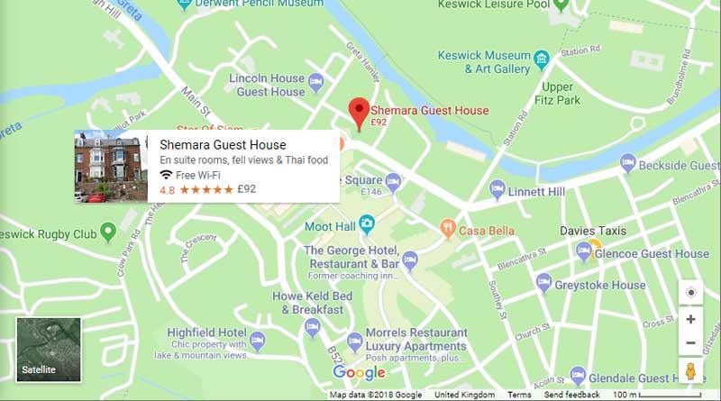 Shemara map